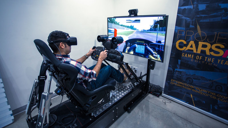 Animations innovantes vr simulateur