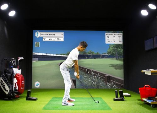 golf simulateur animations innovantes
