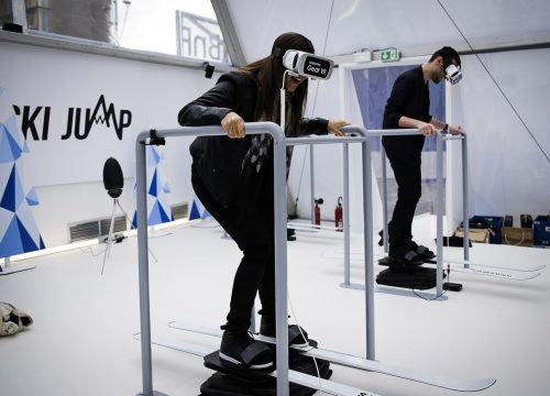 ski simulateur sport animations innovantes