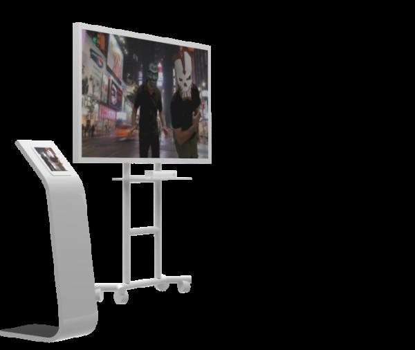 Realite augmentee photobooth