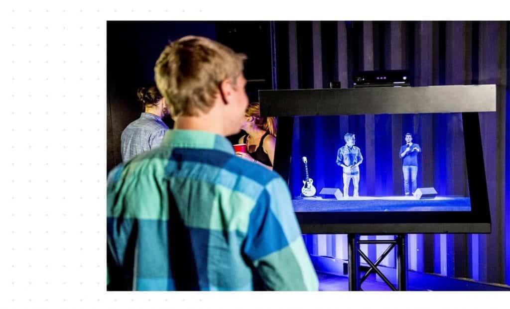 Invitez des hologrammes pour votre événement Team Building !