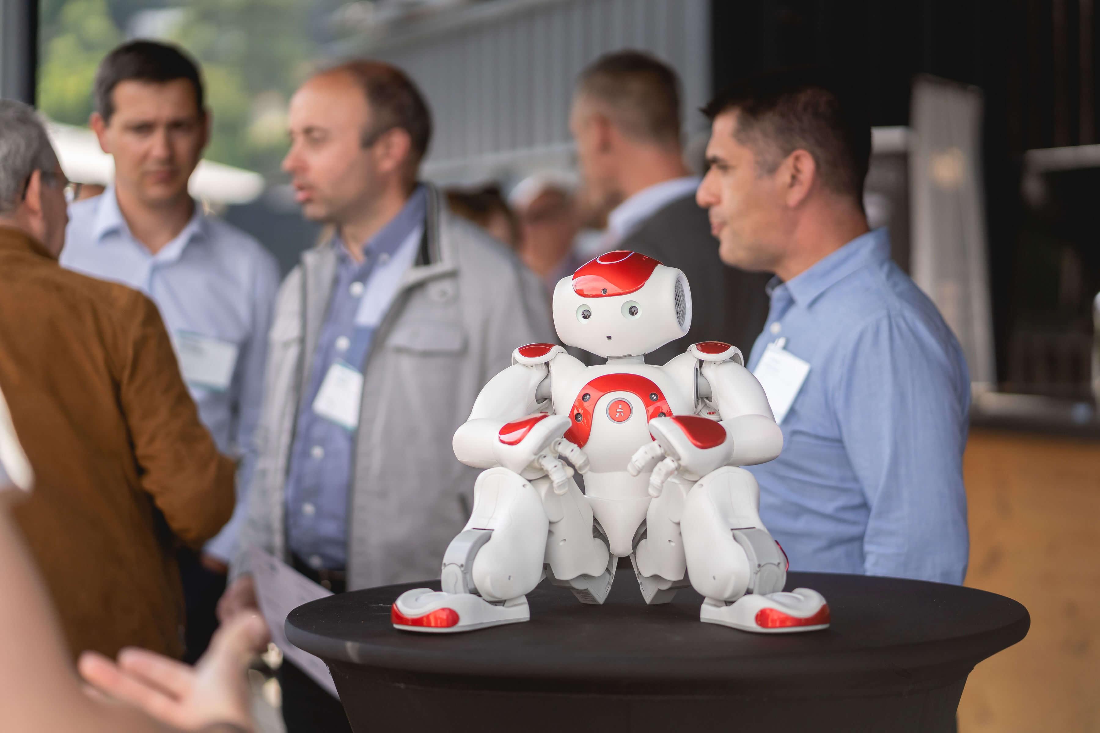 Le succès des robots au sein des événements d'entreprise !
