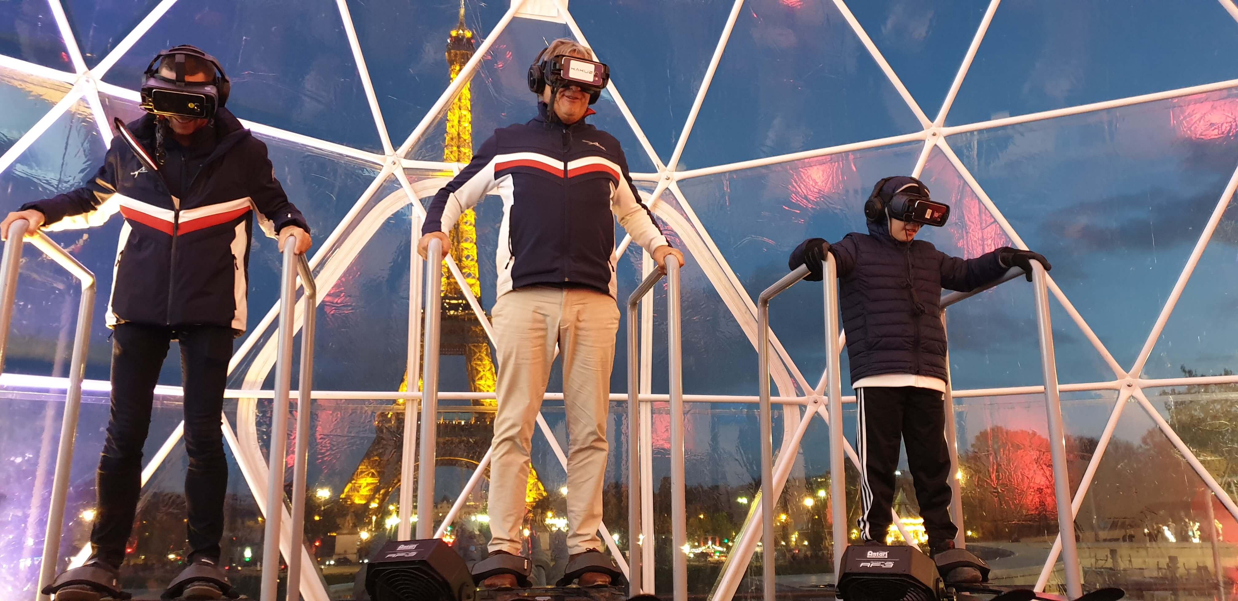 Plateforme dynamique de réalité virtuelle et événement pro !