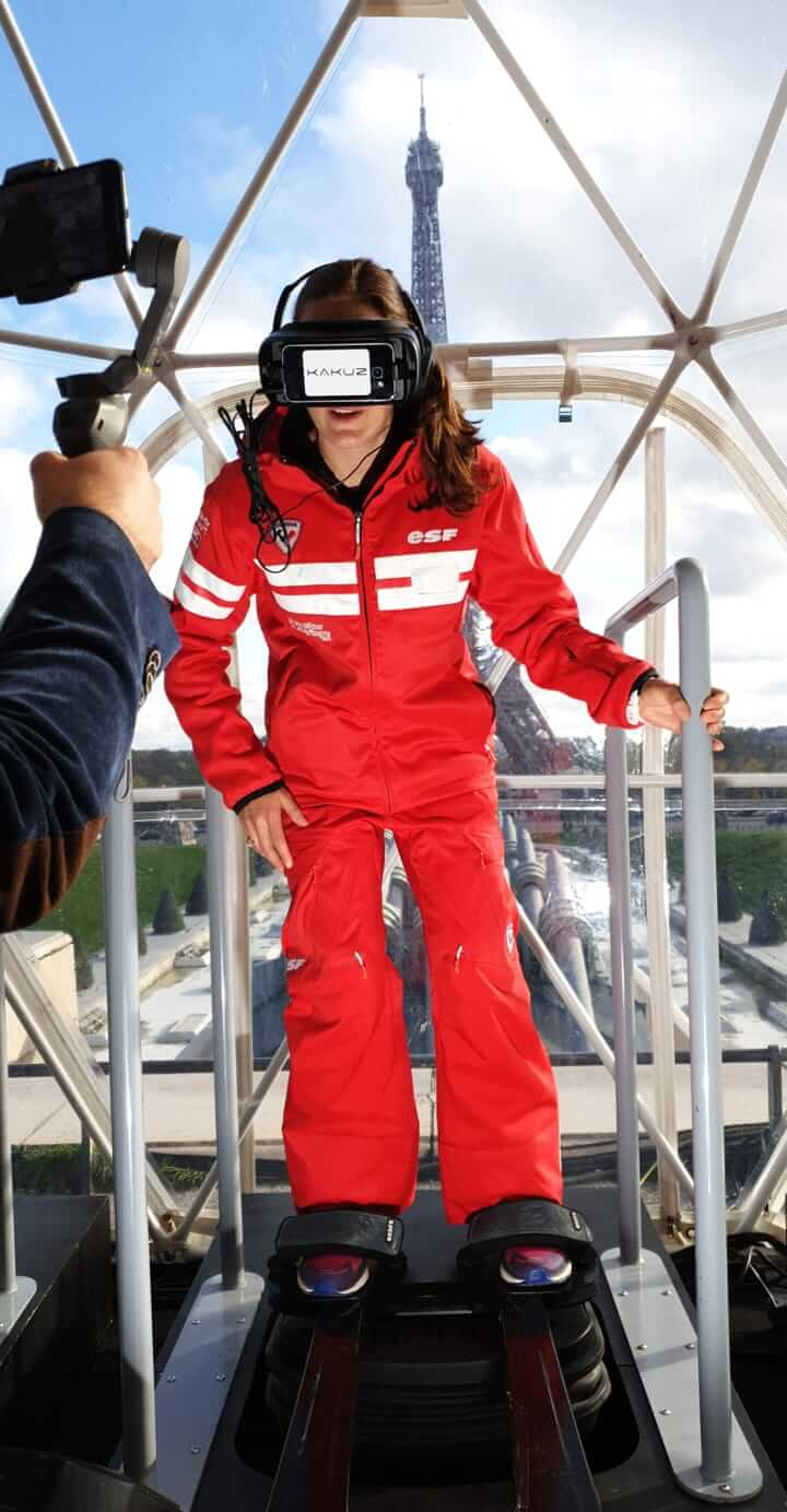 Simulateur sports extremes