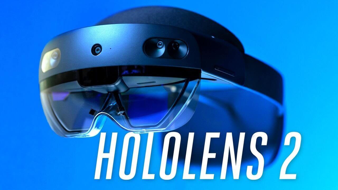 => La réalité augmentée évolue avec le casque Hololens 2 !